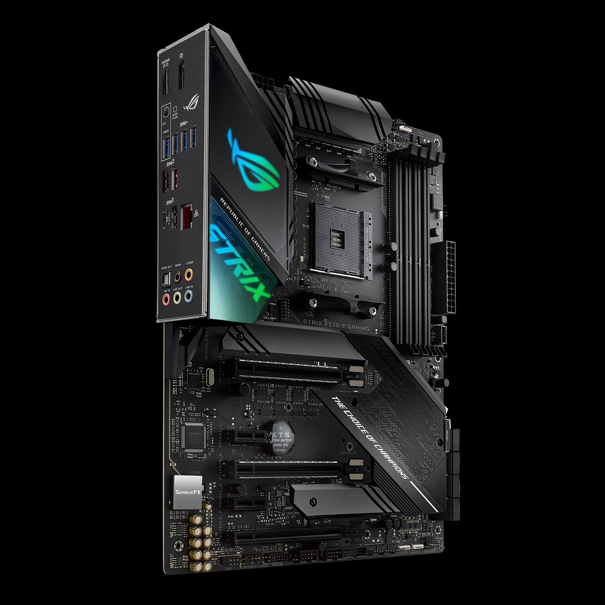 Asus Rog Strix X570 F Gaming Motherboard Specifications On Motherboarddb